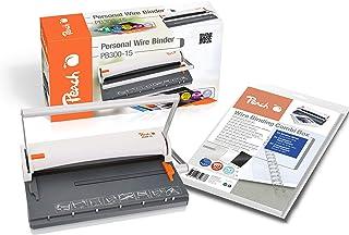 Peach PB300-15 Relieuse à fil Format A4 Capacité de perforation 60 pages