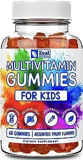 Kids Multivitamin Gummies (60 Count) Vegetarian, Gelatin Free, Allergen Free, Natural Flavors, Non-GMO - Gummy Vitamins fo...