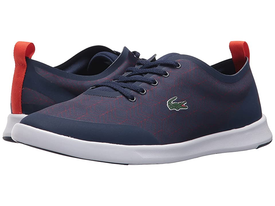 6ef75b9945d97 Lacoste Avenir 417 2 (Blue) Women s Shoes