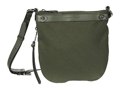 Rebecca Minkoff Mab Nylon Swing Crossbody (Olive) Handbags