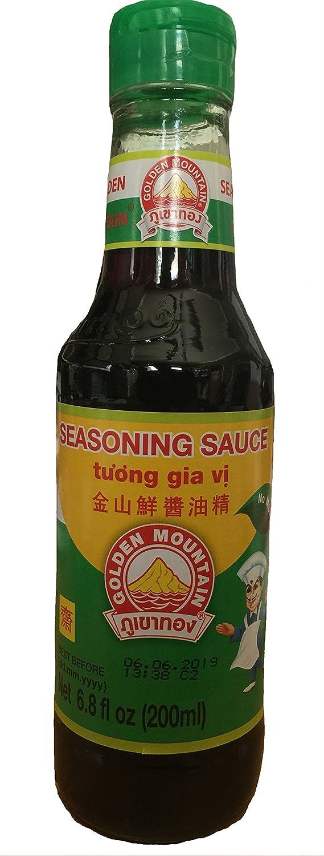 Golden Mountain Ranking TOP12 Seasoning Soybean Sauce fl - It is very popular 6.8 bottle oz