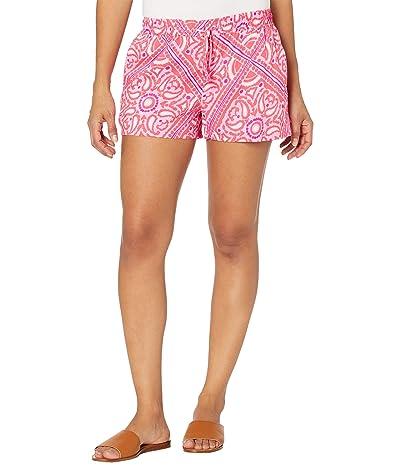 Vineyard Vines Scarf Print Pull-On Shorts Women