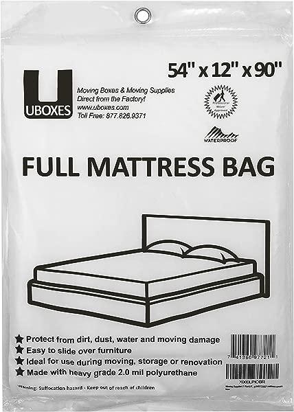 Moving Supplies 1 Pack Full Size Mattress Bag 54 X 12 X 90 Mattress Covers