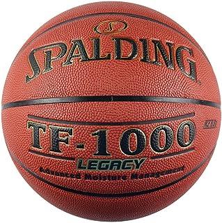 SPALDING斯伯丁 传奇系列室内比赛篮球TF-1000 7号标准蓝球 吸湿PU材质 74-716A