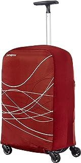 Samsonite Travel Accessories 5 - Foldable Luggage Cover S, Funda de Equipaje, Bordeaux (Rojo)