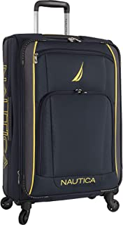 Nautica Luggage, Navy Yellow, 28