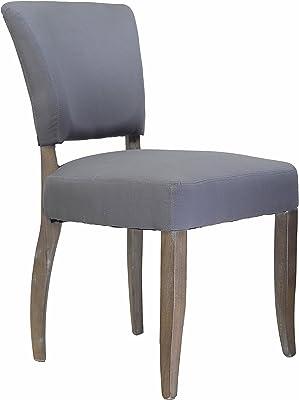 Amazing Amazon Com Design Tree Home Adele Dining Chair In Brown Machost Co Dining Chair Design Ideas Machostcouk