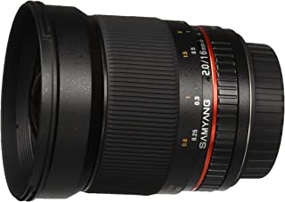Samyang SY16M-C 16mm f/2.0 Aspherical Wide Angle Lens for Canon EF Cameras