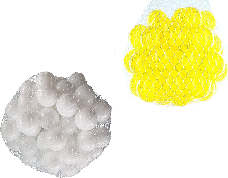 venta caliente Pelotas Pelotas Pelotas para pelotas baño variadas Mix con amarillo y blancoo Talla 1000 Stück  mejor marca
