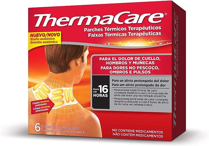 Fasce autoriscaldanti  thermacare  terapeutiche 6 cerotti F00573301536B