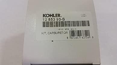 Kohler 12-853-93-S Lawn & Garden Equipment Engine Carburetor Rebuild Kit Genuine Original Equipment Manufacturer (OEM) Part