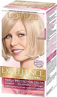 L'Oreal Paris Excellence Creme Haircolor, Light Natural Blonde [9] 1 ea (Pack of 2)