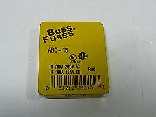 Best buss abc 15a 250v Reviews