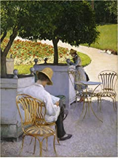 Trademark Fine Art The The Orange Trees by Gustave Caillebotte, 35x47, Multiple