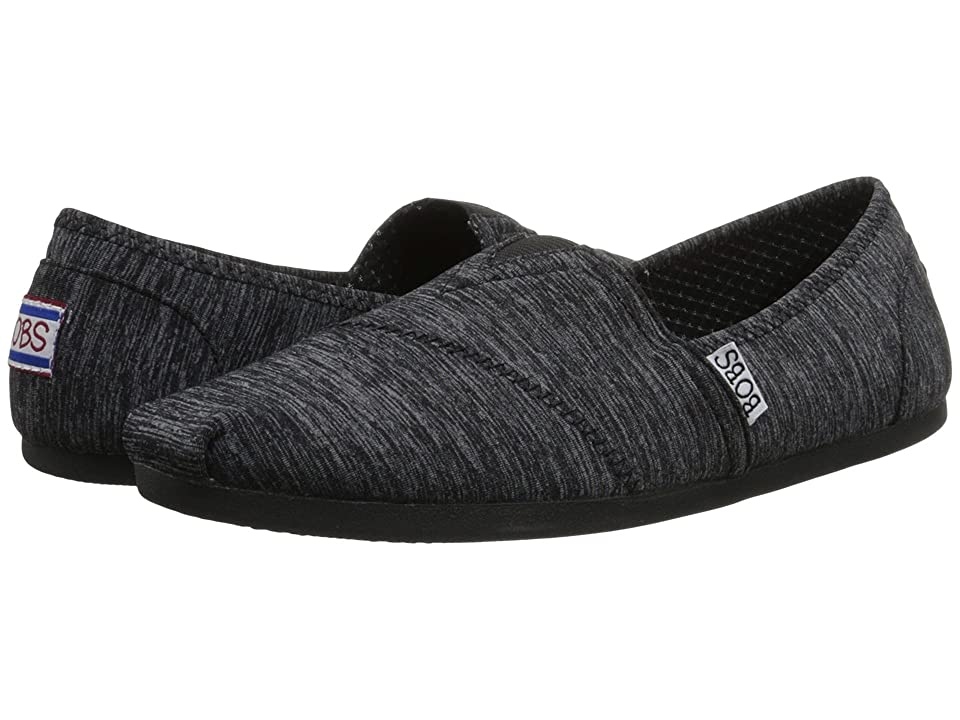 BOBS from SKECHERS Bobs Plush (Black 1) Women