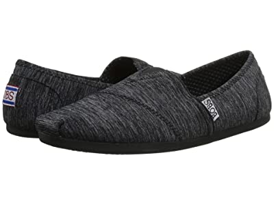 BOBS from SKECHERS Bobs Plush Express Yourself (Black 1) Women