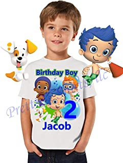 Bubble Guppies Birthday Shirt, Add Any Name and Age, Bubble Guppies Birthday Party, Family Matching Shirts, Birthday Boy Shirts, Bubble Guppies Boy Shirt, Visit Our Shop