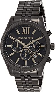 Michael Kors Mens Quartz Watch, Chronograph Display and Stainless Steel Strap MK8603