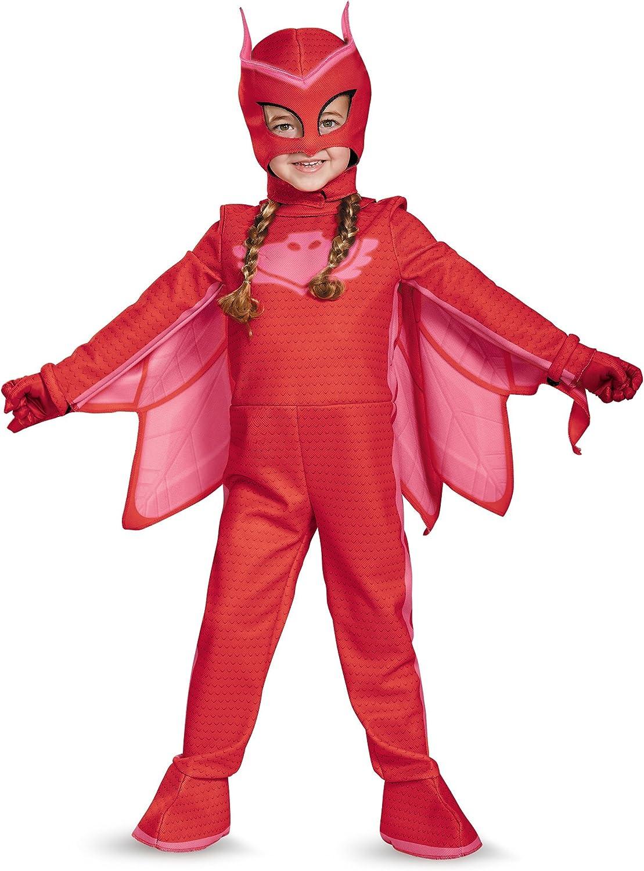 PJ máscaras Owlette Deluxe Toddler Costume : Amazon.es ...