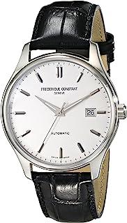 Frederique Constant - FC303S5B6 - Reloj para Hombres, Correa de Cuero Color Negro