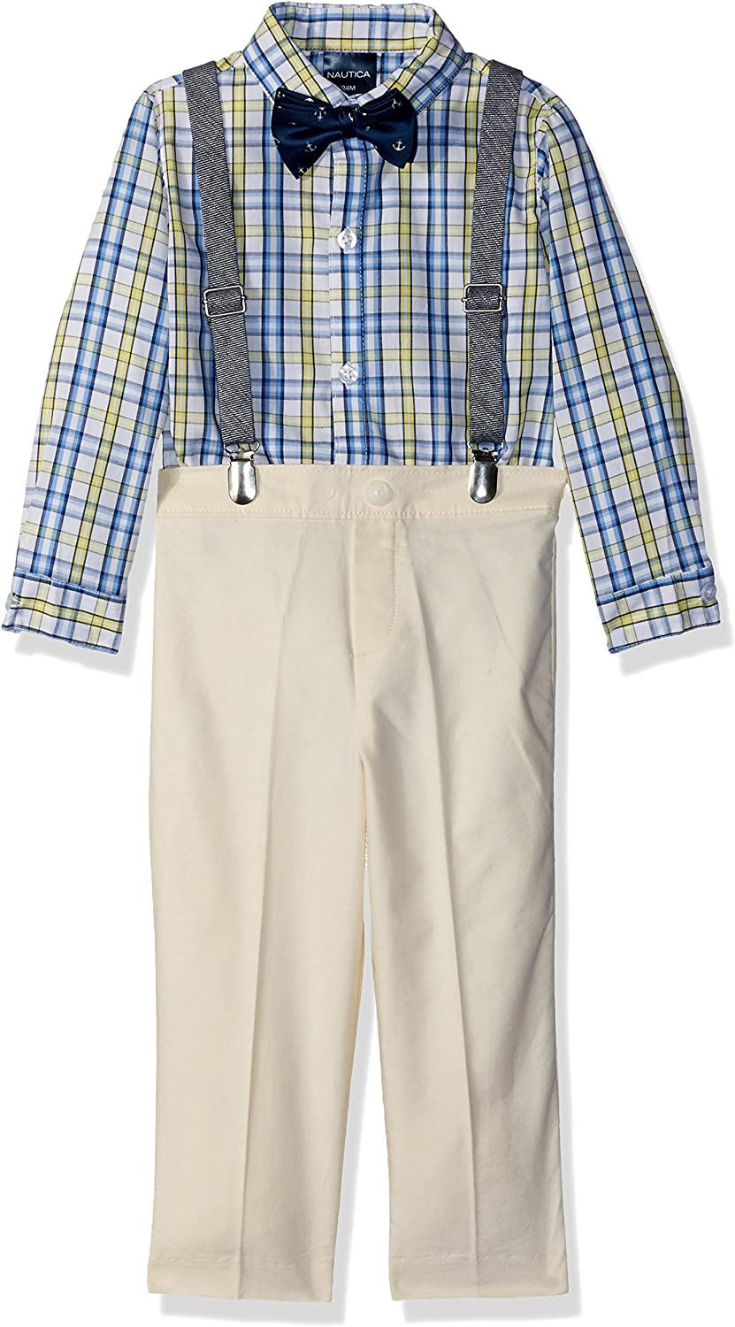 Boys' Set Bombing Sales of SALE items from new works free shipping with Shirt Pant Bow and Tie Suspenders