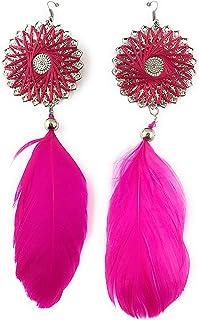WOMEN'S FASHION EARRINGS, ELEGANT, INDIAN HANDMADE, DESIGNER EARRING FOR EVENING PROM/WEDDING/ANNIVERSARY/BIRTHDAY PARTY. ...