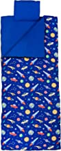 Wildkin Sleeping Bag for Toddler Boys and Girls, Includes Pillow and Stuff Sack, Perfect Size for Slumber Parties, Camping, and Overnight Travel, Patterns Coordinate with Our Nap Mats and Lunch Boxes