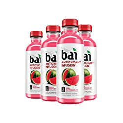 Bai Flavored Water, Kula Watermelon, Antioxidant Infused Drinks, 18 Fluid Ounce Bottles, 6 pack