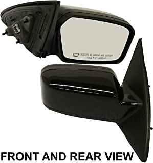 FUSION 06-11 SIDE MIRROR RIGHT PASSENGER, Power, Puddle Lamp, 2 Caps