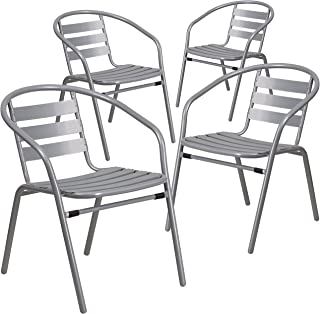 Best aluminum cafe chairs Reviews