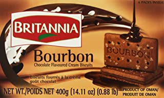 Britannia the Original Bourbon Chocolate Flavoured Cream Biscuits, 13.7 Oz., 390 Grams