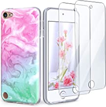 IDWELL iPod Touch Case with 2 Screen Protectors, iPod Touch 7 Touch 6 Touch 5 Case, Slim FIT Anti-Scratch Flexible Soft TP...
