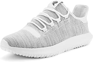 recorrer Captivate Men's White Lace-up Casual Sneaker Shoes
