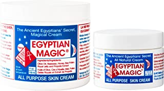 Egyptian Magic All Purpose Skin Cream | Skin, Hair, Anti Aging, Stretch Marks | 100% Natural Ingredients | 5 Ounce