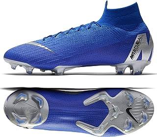 Nike Mercurial Superfly VI 6 Elite FG AH7365-400 Racer Blue Silver Men s  Soccer 388494d7f9