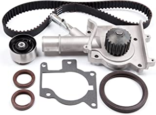 ECCPP Timing Belt Water Pump Kit Fit for 2000 2001 2002 2003 2004 Ford Focus SOHC 2.0L 1989CC L4