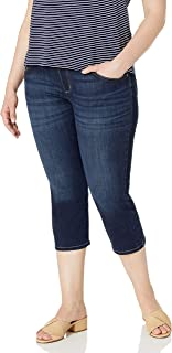 Women's Plus Size Sculpting Pull on Capri Jean