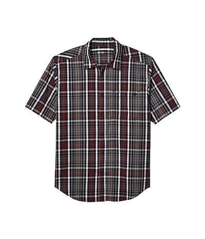 Wolverine Grayson Short Sleeve Shirt (Onyx Plaid) Men