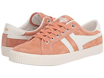 Gola Tennis Mark Cox Suede (Peach/Off-White) Women