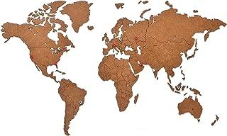 Best wall world map Reviews