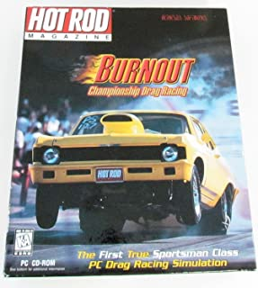 Hot Rod Magazine Burnout Championship Drag Racing