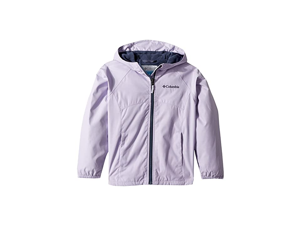 Columbia Kids Endless Explorer Jacket (Little Kids/Big Kids) (Soft Violet Heather/Nocturnal) Girl