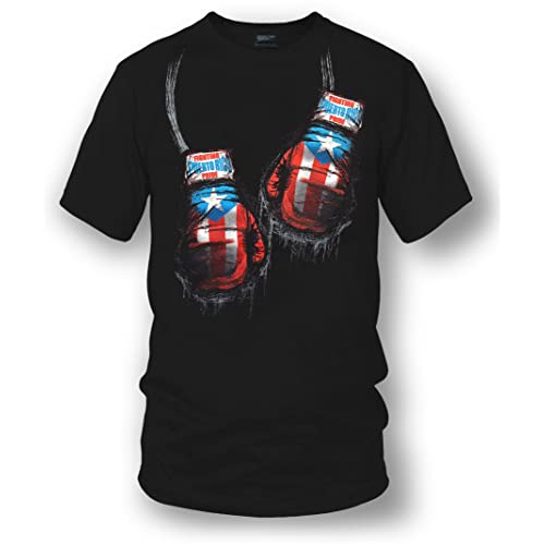 7da32557c7c62 Wicked Metal Puerto Rico Boxing Shirt, Puerto Rico Pride