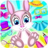 bunny dress up free easter games little girl games new free girl games bunny spa salon rabbit care game pet dress up easter eggs find