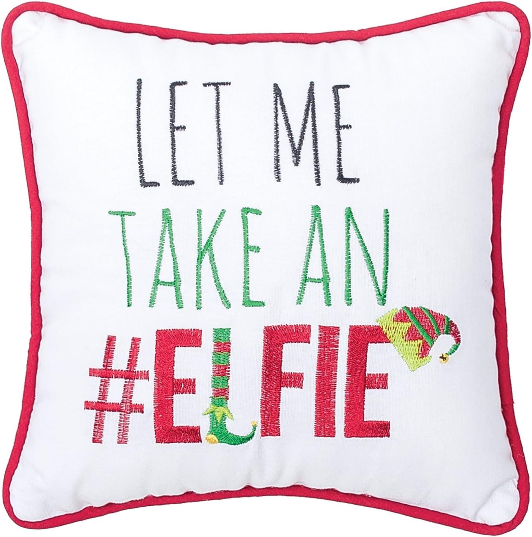 Santa Sleigh & Reindeers Rectangular Throw Pillow