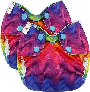 rainbow fish cloth diaper