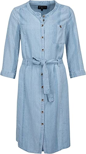 Expresso Elany Damen Denim-blaues Tunika-Kleid mit Einer L nge bis zum Knie