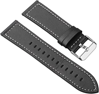 Metal Magnetic Luxury Wristband,Genuine Leather Watch Replacement Bands for Samsung Gear S3 Frontier Smartwatch Classic,22mm Stainless Steel Breathable Bracelet Time