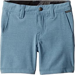 Volcom Kids Frickin SNT Static Shorts (Toddler/Little Kids)