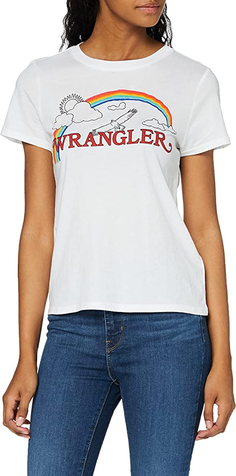 Damen Rainbow Regular T-Shirt